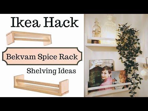 Ikea Home Hack: Bekvam Spice Racks | Easy DIY Shelving Storage Solutions