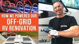 Off-Grid RV Reno? | RVLove's RV Makeover (Ep 5) | DIY REMODEL