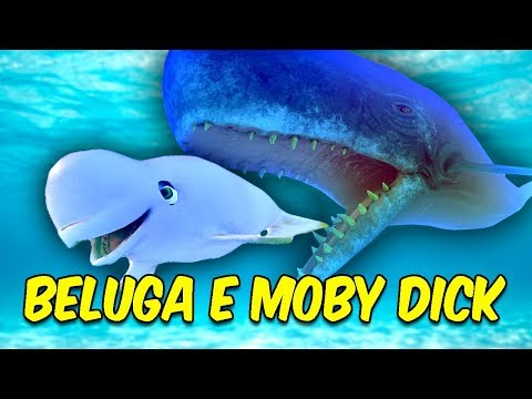 NOVA BELUGA COMEU A MOBY DICK GIGANTESCA | Feed and Grow: Fish