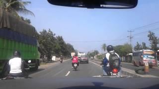 Jalanan pantura Tegal
