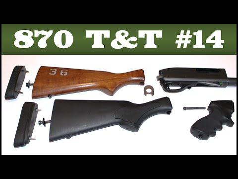 Stock Removal & Installation - Remington 870 Tips & Tricks #14
