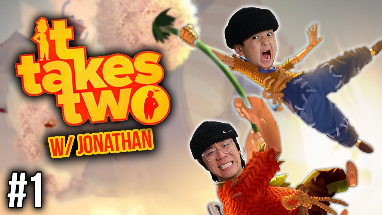 Download BEST DUO GAME EVER!!!   It Takes Two w/ Jonathan (Pt 1)