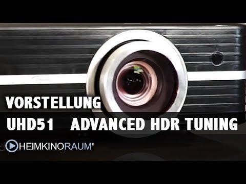 Vorstellung Optoma UHD51 Advanced HDR Tuning