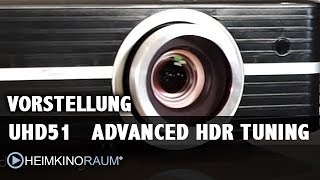 Vorstellung Optoma UHD51 Advanced HDR Tuning