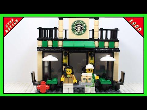 """LEGO """"Starbucks"""" Café"""