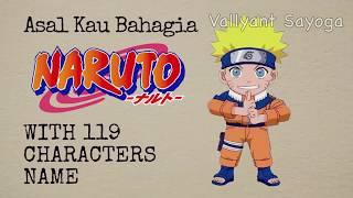 Cover Naruto Vers Armada Asal Kau Bahagia with 119 characters name