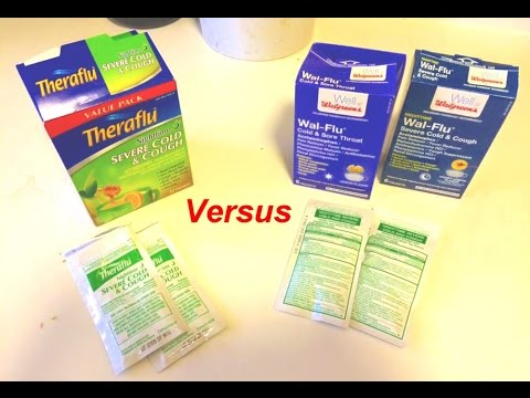 Theraflu Vs Wal Flu Review Showdown Your Best Option Youtube