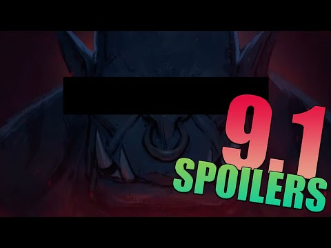 Shadowlands 9.1 HUGE *SPOILERS* You'll NEVER Guess Who Shows Up in the RAID !!!