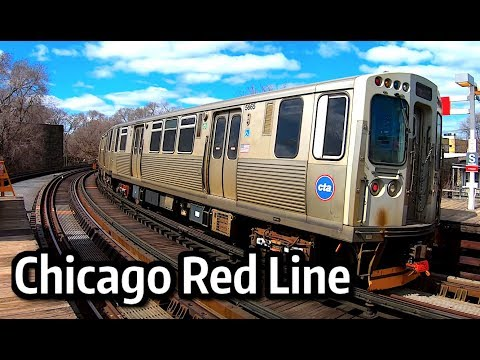 ⁴ᴷ Chicago CTA Red Line Action