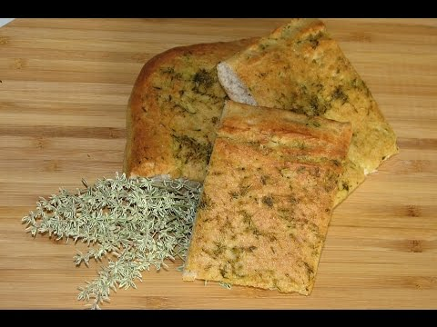Leckeres Thymian-Brot selber machen