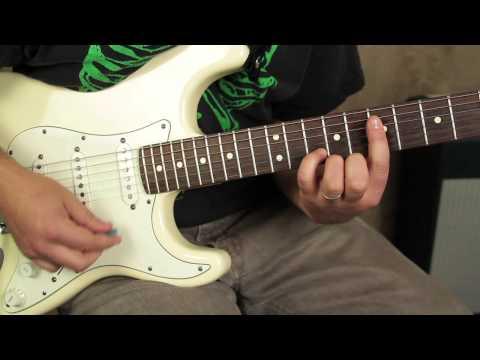 Rhythm Guitar Lessons - R&B Soul Funk guitar Fender Strat