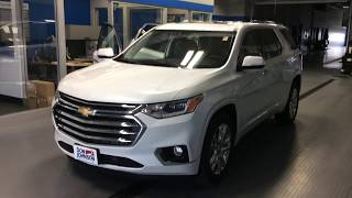 2018 Chevrolet Traverse High Country AWD at Don Johnson Motors in Rice Lake, WI (R1857)