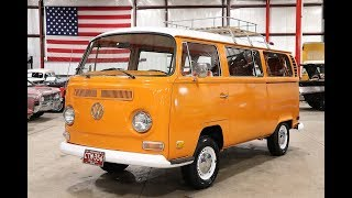 1971 Volkswagen Bus Orange