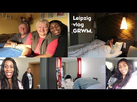 Vlog // GRWM | LEIPZIG  VLOG + SPEND A DAY WITH ME IN LEIPZIG | inspiredbyvon