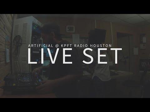 Artificial Live @ KPFT Radio Houston