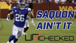 Saquon Barkley's Hype Has Been Stopped at the Line of Scrimmage