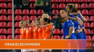 Highlights: Penaltyserie Nederland-Frankrijk (03/09/2009)