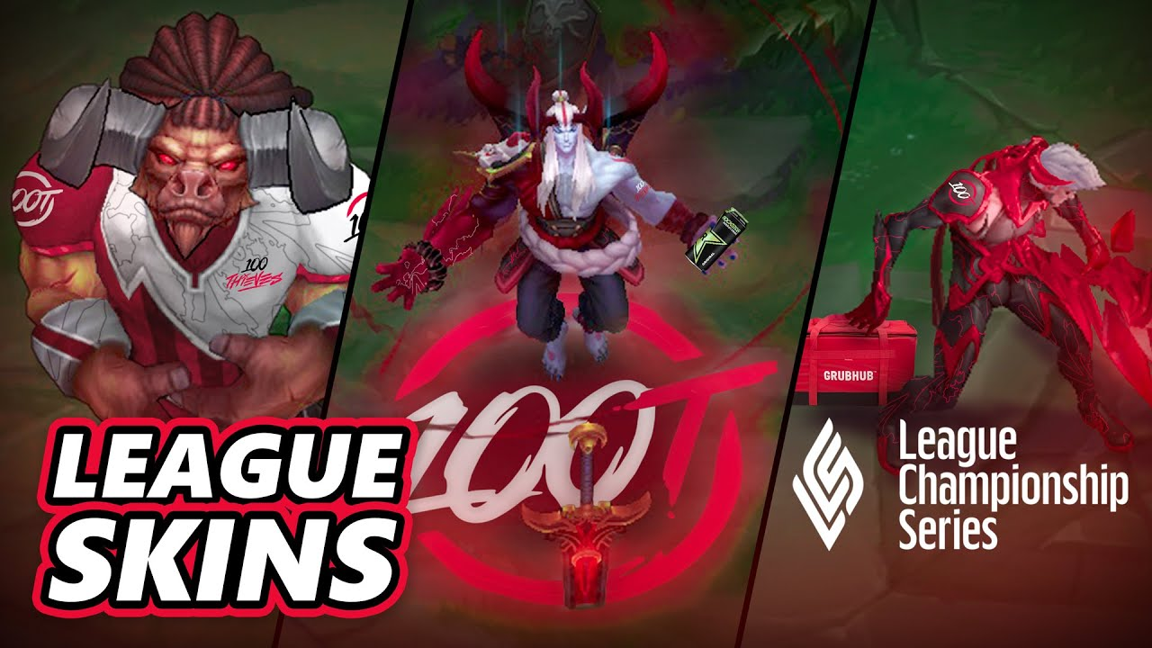 EXCLUSIVE League of Legends 100 Thieves Skins Revealed?! ft Yassuo