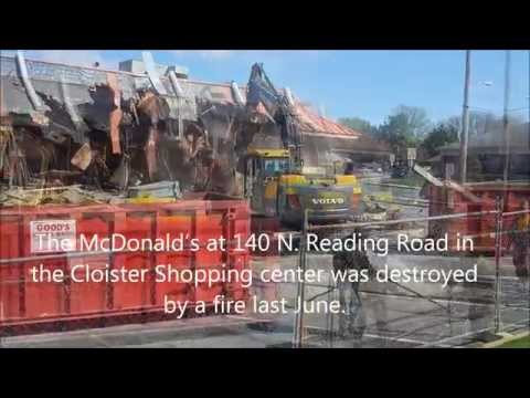 McDs Demolished  in Ephrata, Pa.