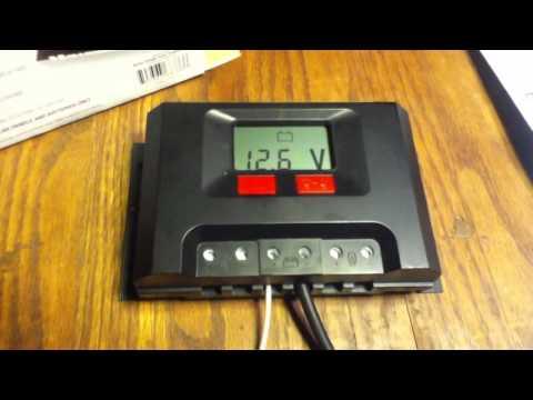 Net Meter Solar LCD30 Vs Harbor Freight THunderbolt solar 500 watt charge controller