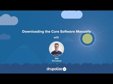 Drupal 8 User Guide: 3 6  Downloading the Core Software