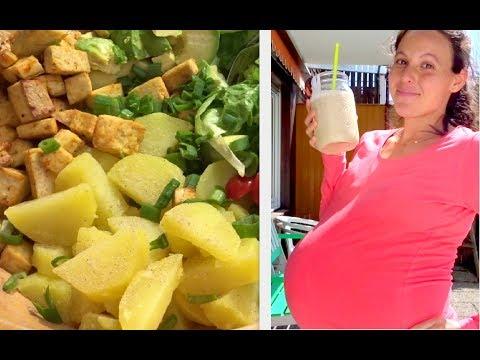 vegan-&-9-months-pregnant-meals