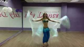 "Школа танцев ""My Dance"" Танец живота с крыльями. Шоу-программа"