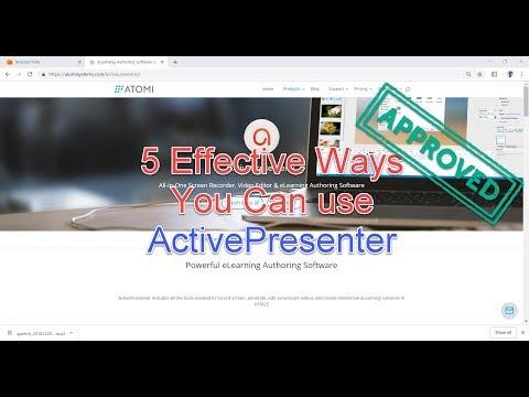 5 Effective Ways You Can Use Atomi ActivePresenter