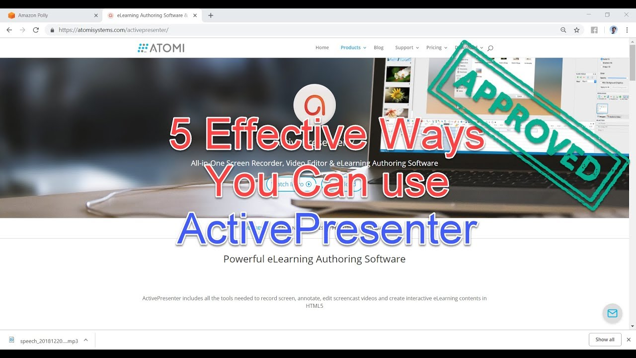 5 Effective Ways You Can Use Atomi Activepresenter Youtube