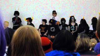 """HS panel """"THIS IS STUPID"""" Animethon 19(3/6)"""