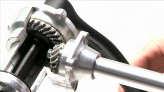 Dynamic Bicycles' Shaft Drive System