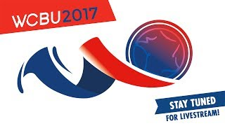 USA vs France MEN'S MASTERS Final - WCBU2017 Arena Field