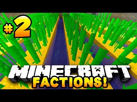"Minecraft FACTIONS #2 ""SUGAR CANE FARM!"" - w/PrestonPlayz & MrWoofless"
