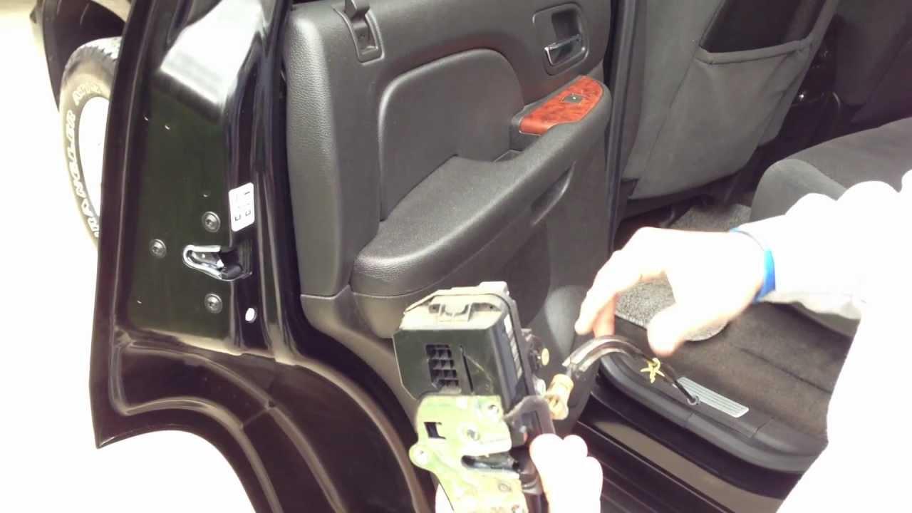 Door Lock Actuator Wiring Diagram 3 Wire Electrical Rear Replacement - 2007 To 2012 Tahoe Silverado Avalanche Yukon Denali Youtube
