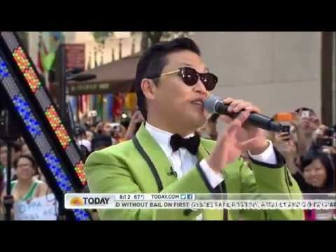Psy Interviewed On Today Show