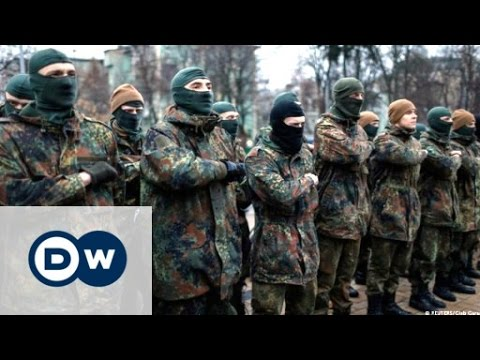 Women and the Azov battalion in Kyiv, Ukraine   DW Documentary