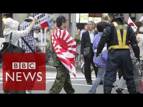 Japanese men and white women