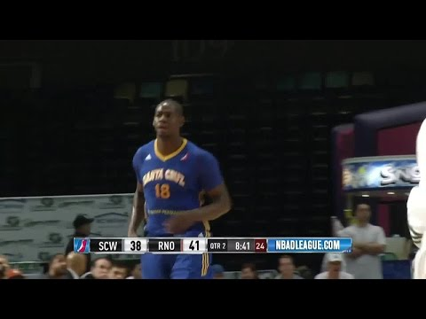 Ronnie Brewer posts 10 points & 12 rebounds vs. the Bighorns, 2/27/2016