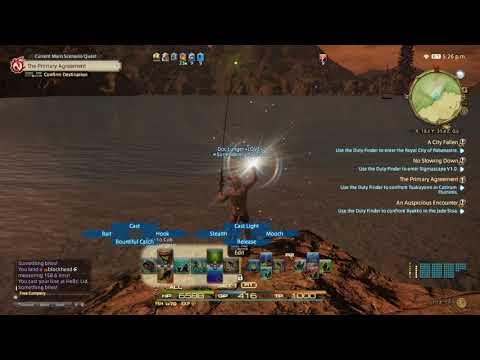 FINAL FANTASY XIV - Shrieker Fishing