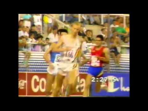 3009 European Track & Field 1990 Split 3000m Steeplechase Men