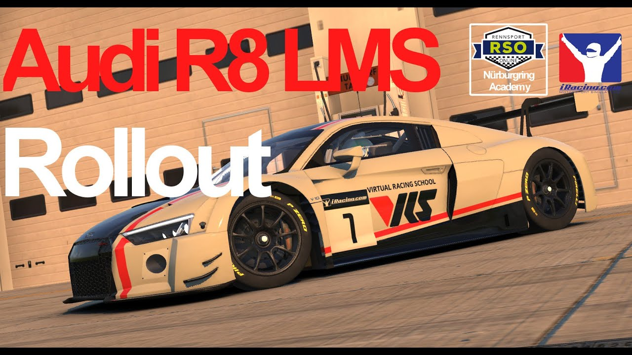 Audi R8 Iracing - Year of Clean Water