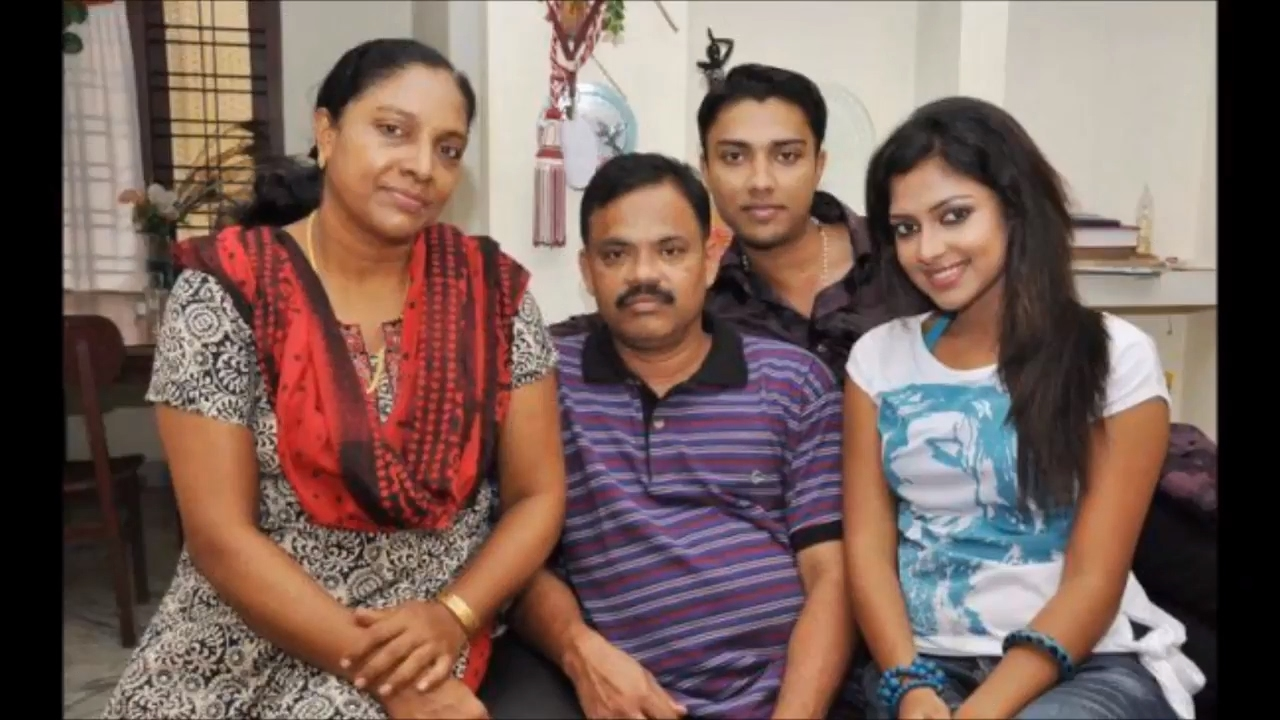 indian film actress - amala paul family video - youtube