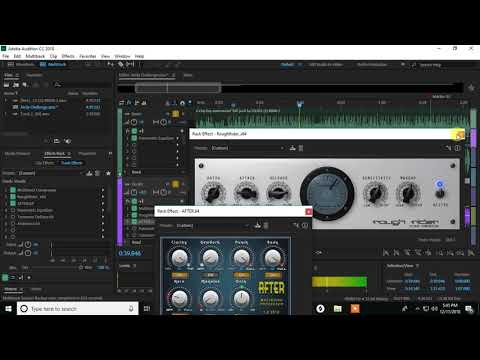 How To Mix Rap Vocals In Adobe Audition With ONLY BUILT IN/FREE Plugins