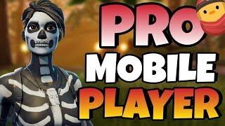 Pro Fortnite Mobile Player / FAST BUILDER! / 200+ Wins /  Fortnite Mobile Gameplay + Tips!