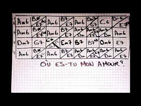 Play Along Manouche - OU ES-TU MON AMOUR? - Gipsy Jazz - YouTube