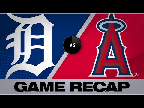 Thaiss, Canning lift Halos in 6-1 win | Tigers-Angels Game Highlights 7/30/19
