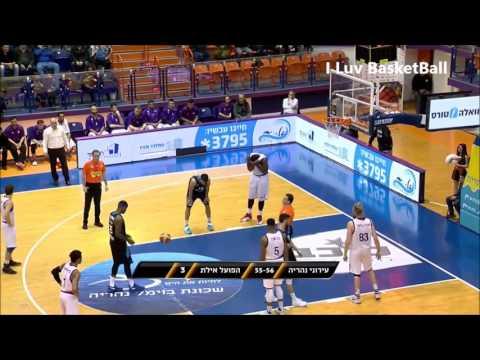 Landon Milbourne (랜든 밀번) 2016-17 Israel Winner League Highlights