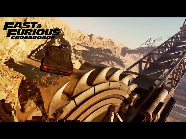 Fast & Furious Crossroads (видео)