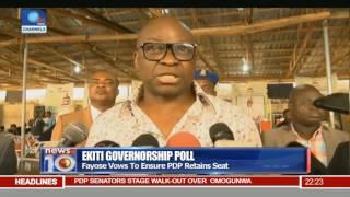 Fayose Vows To Ensure PDP Retains Ekiti Governorship Seat