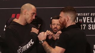 James Vick vs. Paul Felder | UFC on ESPN 1 Media Day